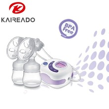 KAREADO new baby born gift set baby feeding products electric vacuum breast pump milk with baby feeding bottle
