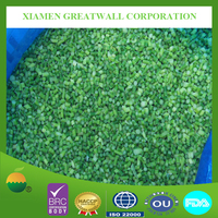 2015 hot sale frozen vegetable, IQF garlic sprout dices