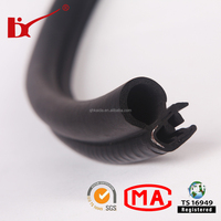 car body panel waterproof seal, epdm rubber co-extrusion