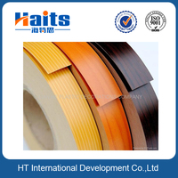 Factory direct sale wood grain rubber edge banding for furniture