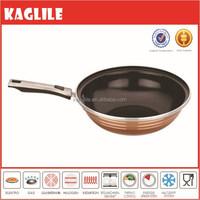 2015 New brand forged aluminium nonstick ceramic coated saute pan wok
