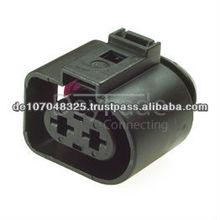 1J0973752 - 2 Way Sealed Female Connector 4.8 mm, 1-row, Coding I, (VW restricted) (1J0 973 752, 1JO 973 752, 1JO973752)