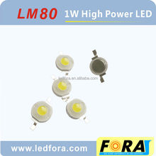 High quality Bridgelux chips 45mil chips 1w high power led