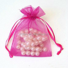 Clear Gift Pouch Mesh Small Bag Christmas Gifts Packing Pouch Bags LS54