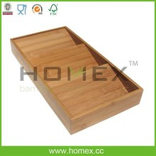Food safety bamboo cabinets organizations / HOMEX - FSC / BSCI
