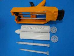 High precision 600ml AB glue caulking gun/adhesive manual gun/injection glue gun/cartridge dispenser