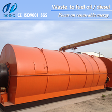 Henan Doing Manufacturer!! waste tire recycling equipment, waste tire to oil machine, used tyre recycling machine