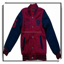 garment factory stock lots varsity baseball jacket