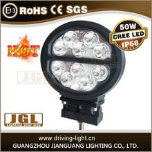 50w led off road led working light Cree led work lamp SPOT/FLOOD for option