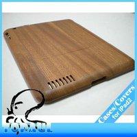 Genuine Natural Bamboo Wood Hard Case For ipad2 for Apple ipad2 ipad3,2P031