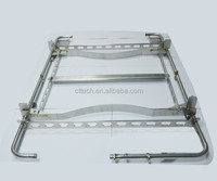 Automotive fixture with laser welding