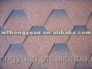 laminated villa roofing tiles / cheap mosaic asphalt shingles for slope villa roofings