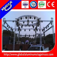 aluminum stage lighting roof truss, concert roof truss system