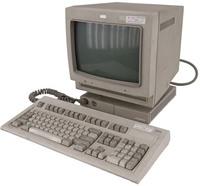 Vintage Model 3196 Display Station +83X7939 Monitor +Model M Keyboard