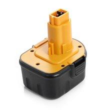Extended Run-Time 12V 2000mAh Replacement Battery For Dewalt DW9071 DW9072 DC9071 DE9037 DE9071 DE9072 DE9074 DE9075