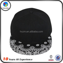 young mens floral brim snabpack hats wholesale