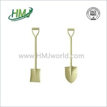 Flat garden spade wooden or fiberglass handle steel shovel