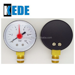 2inch ABS differential bourdon tube type pressure gauge