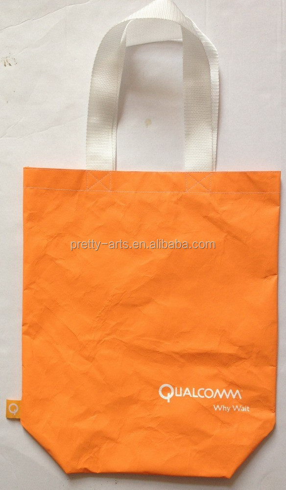 1443R tyvek shopping handled tote bag