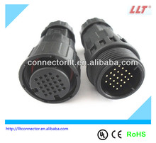 auto waterproof electric connector 24 pin connector
