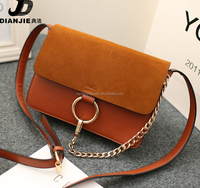Alibaba long strap women bags new arrival nubuck leather college girls shoulder bags