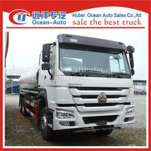 SINOTRUK HOWO 6X4 drive wheel 20000liters tank drinking water truck sale