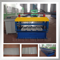 High Quality 895&875 Double Layer Roofing Shingles Roll Forming Making Machine Made in China