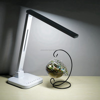Foldable LED table lamp touch dimming eye protective USB port 60mins timer LED desk lamp