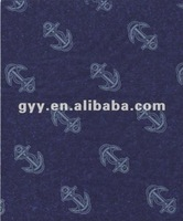 Anchors pattern blue gift wrapping paper/ tissue paper