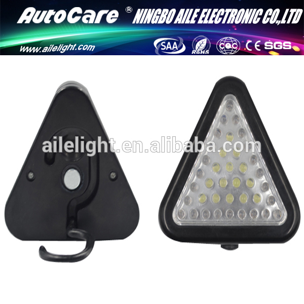 Autocare especial venta al por mayor Portable 15 LED 24 LED rojo luz de emergencia