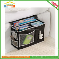 new product 6 pocket bedside storage caddy