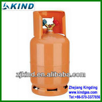 12kg refillable cylinder packing r134a refrigerant gas