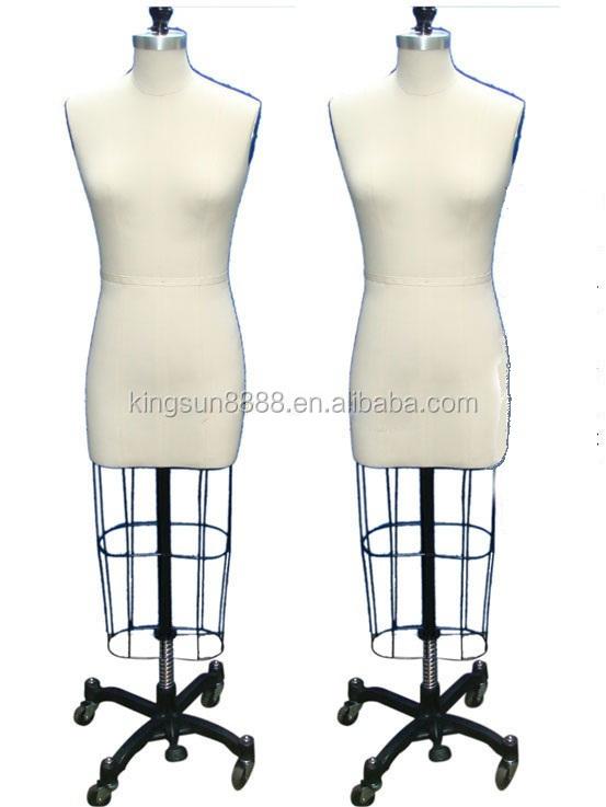 Half Body Tailoring Mannequin For Wedding Dress Fabric Dress Form Mannequin Dressmaker Dummy
