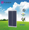 Easy to use mini 12v 20W solar panel for led light and mobile charge