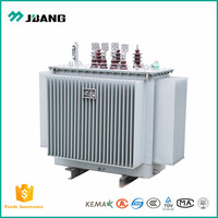 AC 11KV to 415V/240V 50 KVA 50 KW 3 phase oil immersed power distribution transformer