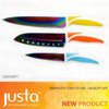New Design Rainbow Blade 3pcs Kitchen Knife Set