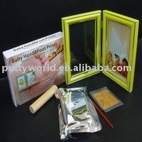 baby handmade kits & baby rubber clay hand and foot print