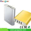 2015 Best Electronic Gadgets for Promotion 10000mAh Power Bank Fast Charging 3U Output Aluminum Housing Power Bank for iPhone