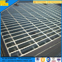 Low Carbon Galvanized Flooring Steel Banded Grate