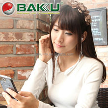 2015 BAKU new product BK-830 Mobile Phone Bluetooth Headset with External Speaker and Vibration Alert Function
