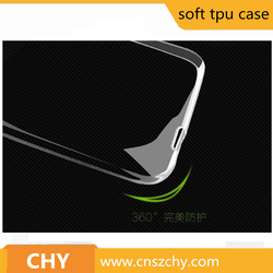 Factory Supply High Quality soft transparent tpu mobile phone case for Huawei Ascend GX1