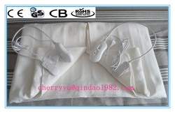 Massage 0-1-2-3 Heat Setting Electric Heating Blankets with Certificate