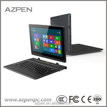 "Personal computer 10.6"" IPS screen windows 8.1Intel 2 in 1 Quad-core HDMI 2160P windows 8.1 tablet, tablet pc gps 2 in 1 laptop"