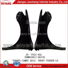 Toyota Camry 2012- Auto Front Fenders Body Parts Supplier