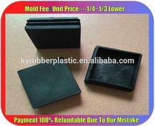Patio Furniture Plastic Inserts / Metal Furniture Leg Inserts Manufacturer / Heavy Duty Plastic Inserts