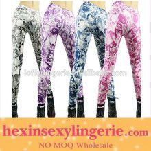 totalidades impresas buena strech coloridos leggings