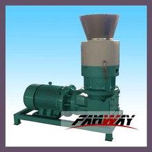 factory sale small capacity flat die pellet machine for wood