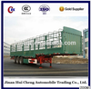 Direct industry tri axle stake truck trailer/fence semi trailer/store house dry for sale