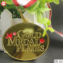 Arts and Crafts Zinc Alloy Canadian Gold Medallion