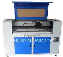 Non woven Laser Cutting Machine cx160100 cutting materials of Woolen/Fabric/Textile/Cloth for sale